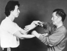 Wing Chun Master Ip Ching and Samuel Kwok