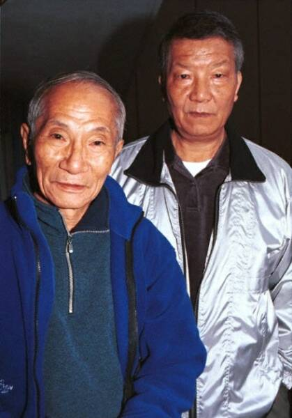 Ip Chun and Ip Ching together