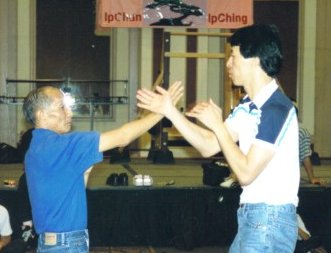 Ip Chun and Sam Kwok Chi Sau