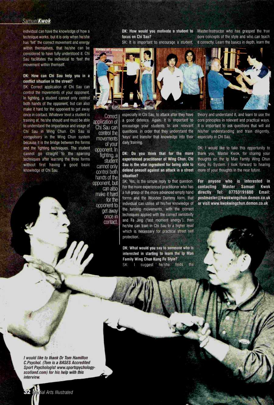 Martial Arts | Wing Chun Articles tagged with Martial Arts