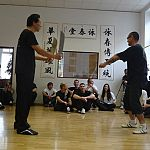 weapons defence from wing chun knives