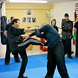 sam kwok teaching at wu shu club spain