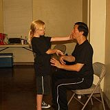 wing chun sitting down