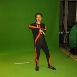 filming the motion capture
