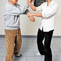 Ip Chun and Donnie Yen in the VTAA