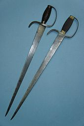 antique double swords