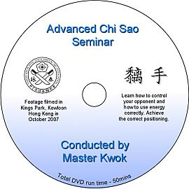 Advanced Chi Sau DVD