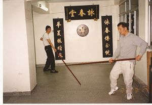 Wing Chun Kung Fu long Pole Form